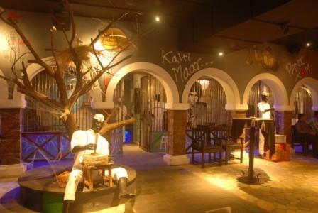 the jail restaurante mas raro