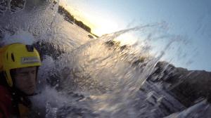 nadar aguas frias chile
