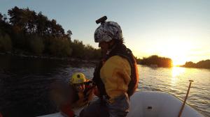 nadar rio trancura pucon viaje