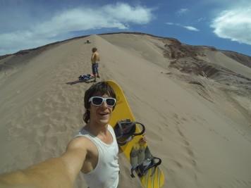 sandboard desierto de atacama chile