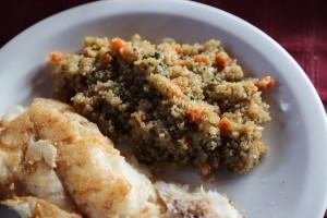 comida mapuche pescado quinua