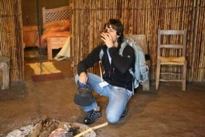 dentro ruka mapuche cafe