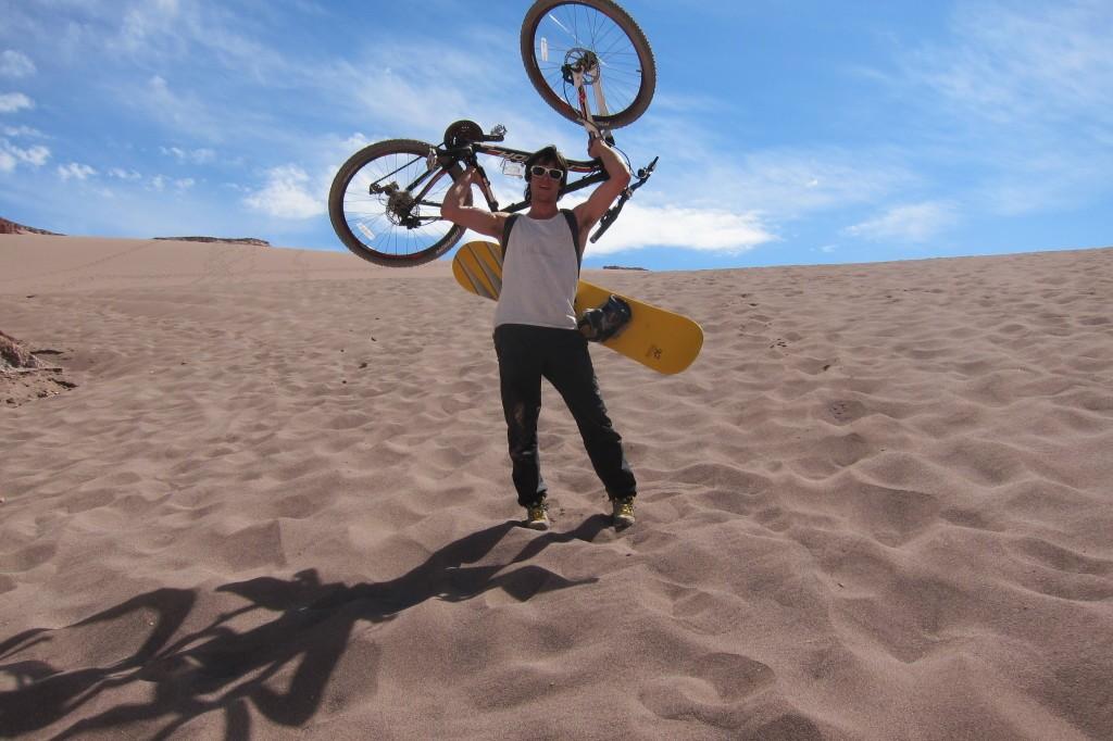 dunas desierto de atacama sandboard