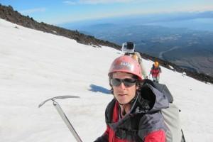 gopro chile trecking volcan villarica