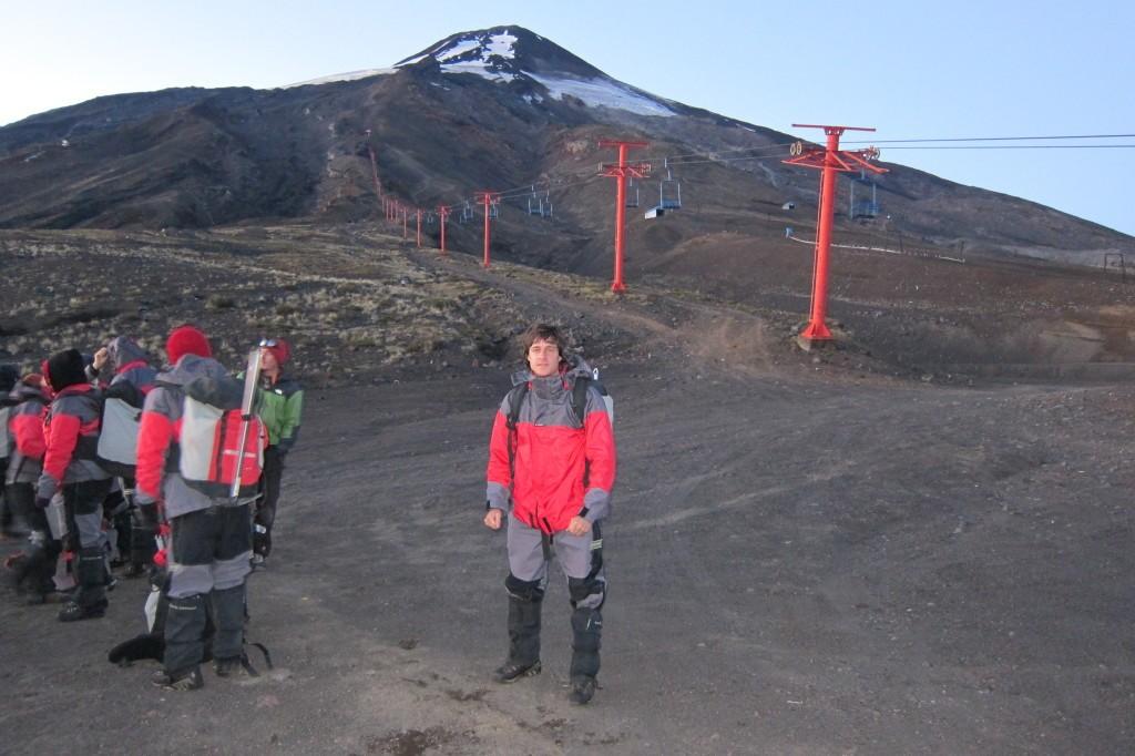 pucon volcan villarica chile equipos