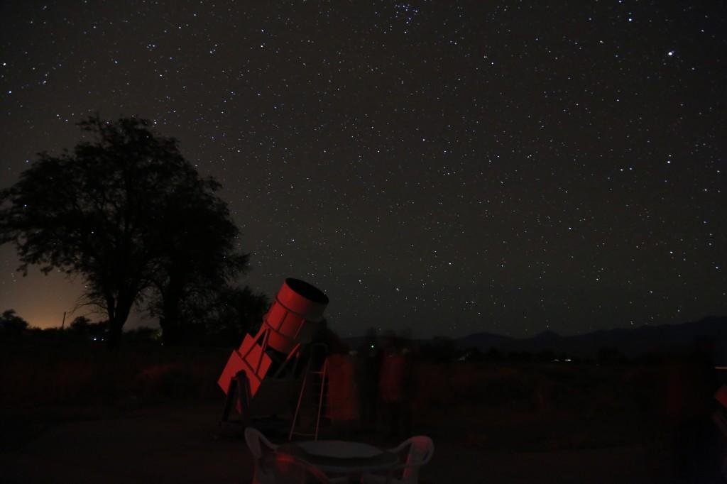 telescopio atacama ver estrellas