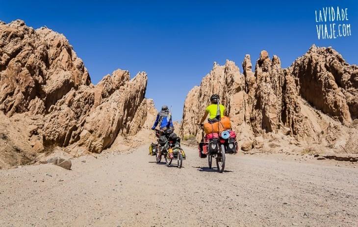 viaje largo bicicleta