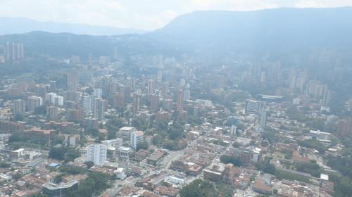 Helicoptero Medellin