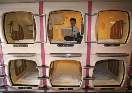 hotel capsula japon