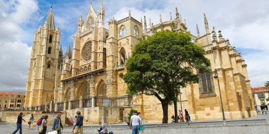 catedral de leon viaje