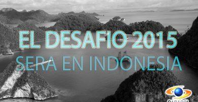 Desafio 2015 indonesia Canal Caracol